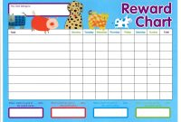 Reward Chart Templates  Word Excel Fomats throughout Reward Chart Template Word