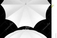 Rib Blank Umbrella Template Isolated Stock Photo  Illustration intended for Blank Umbrella Template
