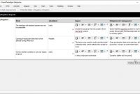 Risk Assessment Template  Project Management  Youtube throughout Threat Assessment Report Template
