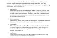 Risk Management In Contracts For Risk Management Agreement Template