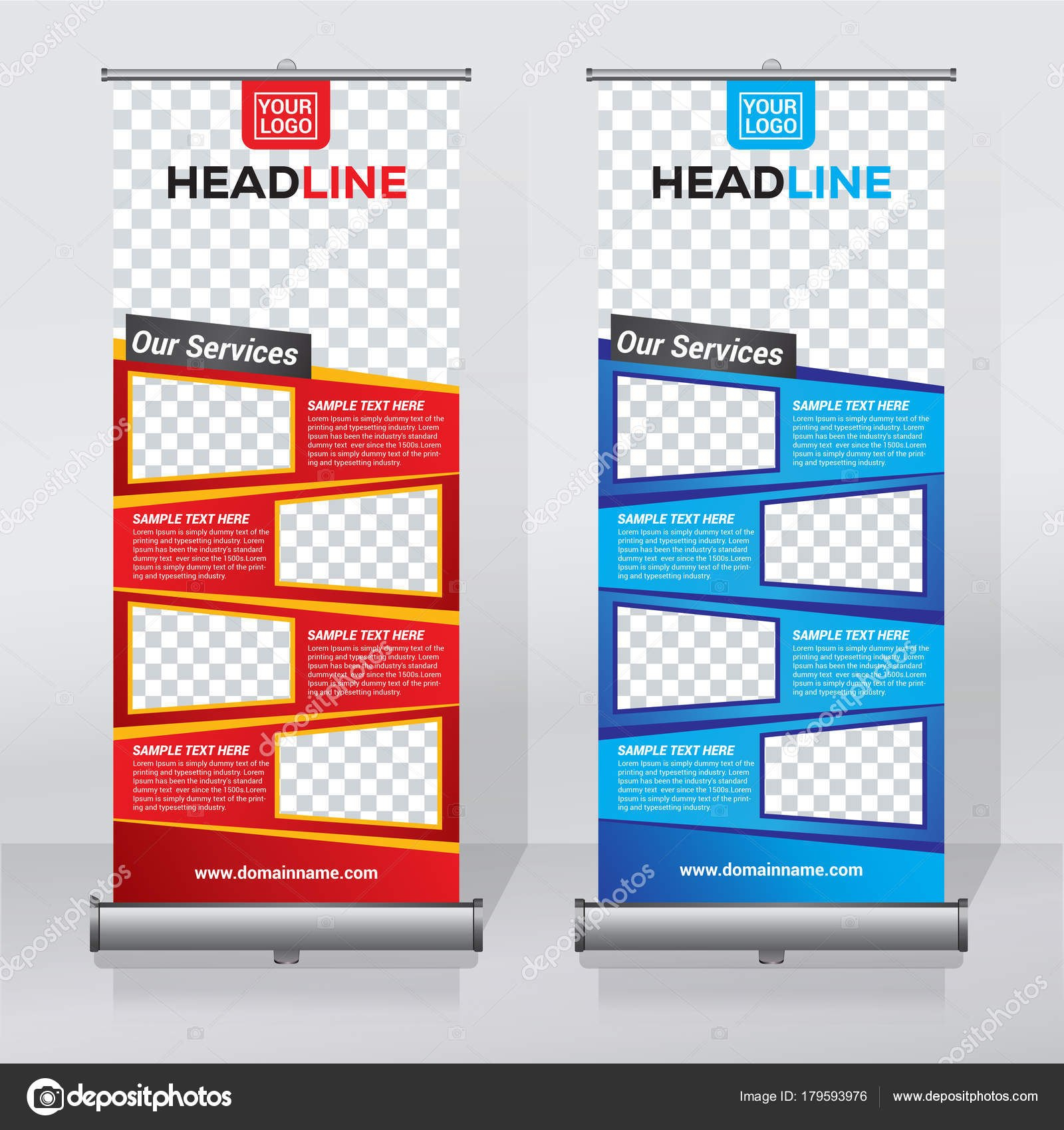 Roll Banner Design Vorlage Abstrakt Hintergrund Design Moderne Inside Pop Up Banner Design Template
