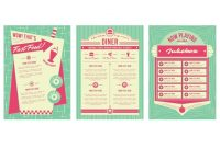 S Backgrounds And Frames  History Pub  Diner Menu S Diner intended for 50S Diner Menu Template