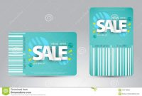Sale Card Template Design For Your Business Stock Vector with Credit Card Templates For Sale