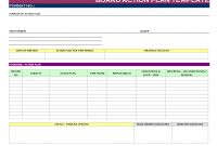 Sales Action Plan Template Business Doc Excel Format Word Pdf in Business Plan Template Free Download Excel