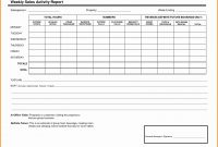 Sales Call Reporting Template Ideas Weekly Report For in Sales Visit Report Template Downloads