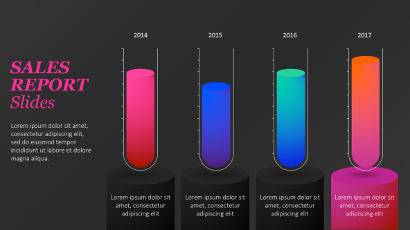 Sales Reports Presentation Templates  Free Powerpoint Templates With Regard To Sales Report Template Powerpoint