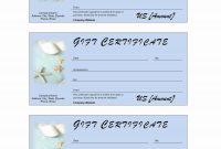 Salon Gift Certificate Template Sensational Ideas Beauty Voucher regarding Nail Gift Certificate Template Free