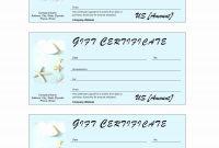 Salon Gift Certificate Templates Template Ideas Printable Best in Salon Gift Certificate Template
