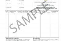 Sample Certificate Of Origin  Indiafilings  Learning Centre within Certificate Of Origin Form Template