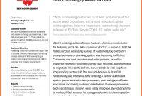 Sample Company Profiles  Company Letterhead inside Free Business Profile Template Word