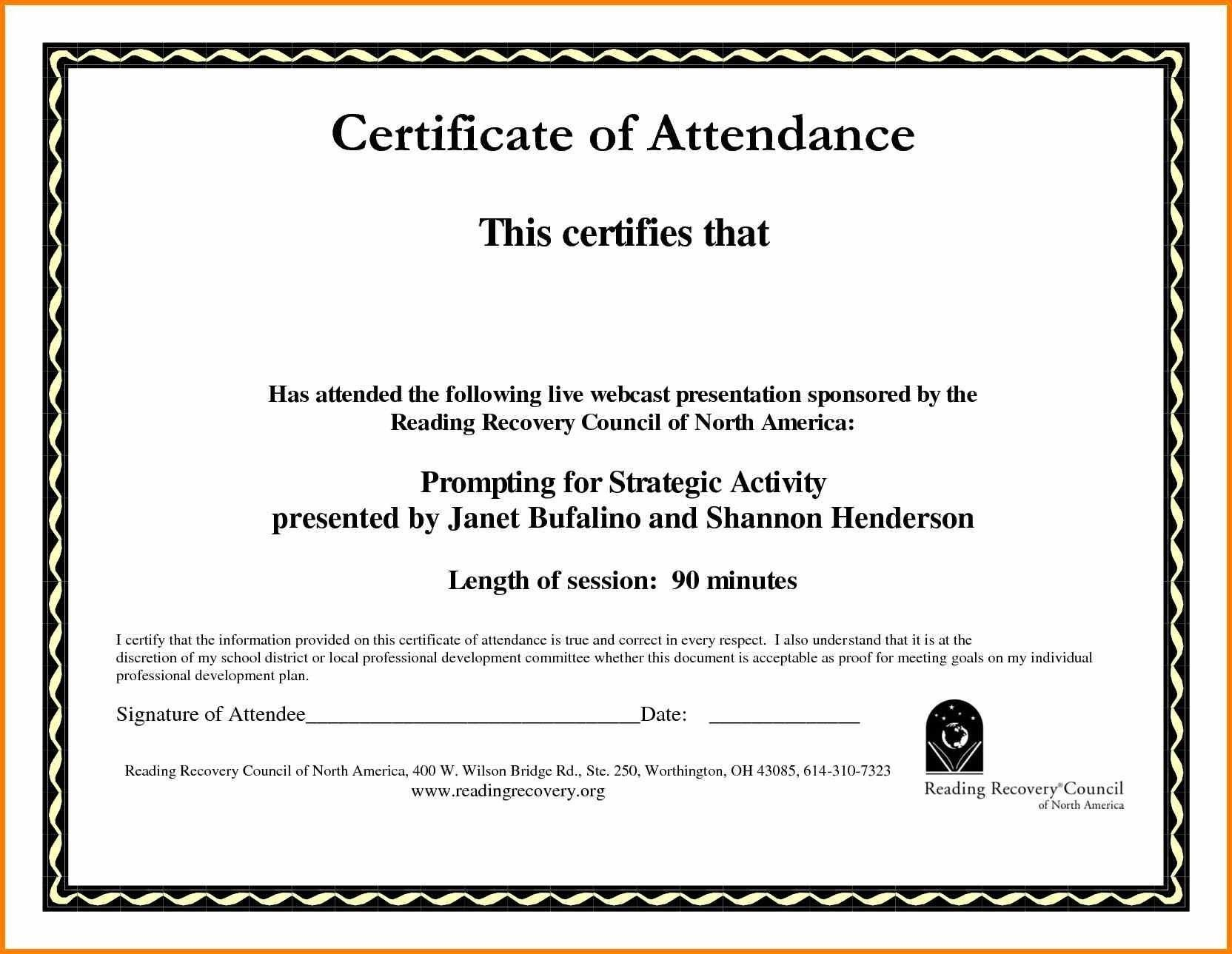 Sample Computer Course Completion Certificate Fres Beautiful Throughout Training Certificate Template Word Format