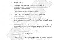 Sample Divorce Settlement Agreement Form Template  Desktop pertaining to Divorce Mediation Agreement Template
