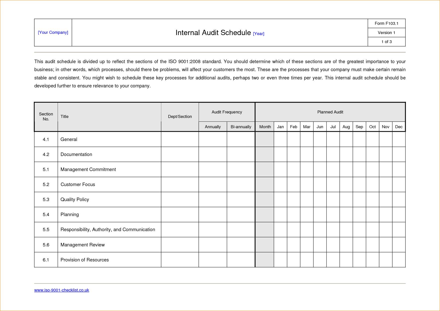 Sample Internal Audit Report Template Call Center Floor  Planner Regarding Internal Audit Report Template Iso 9001