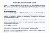 Sample Medical Ort From Doctor Pdf Example Lab Format For Heart within Medical Report Template Doc