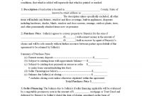 Sample Printable Offer To Purchase Real Estate Pro Buyer Form inside Free Hardware Loan Agreement Template