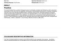 Sample Report for Dr Test Report Template