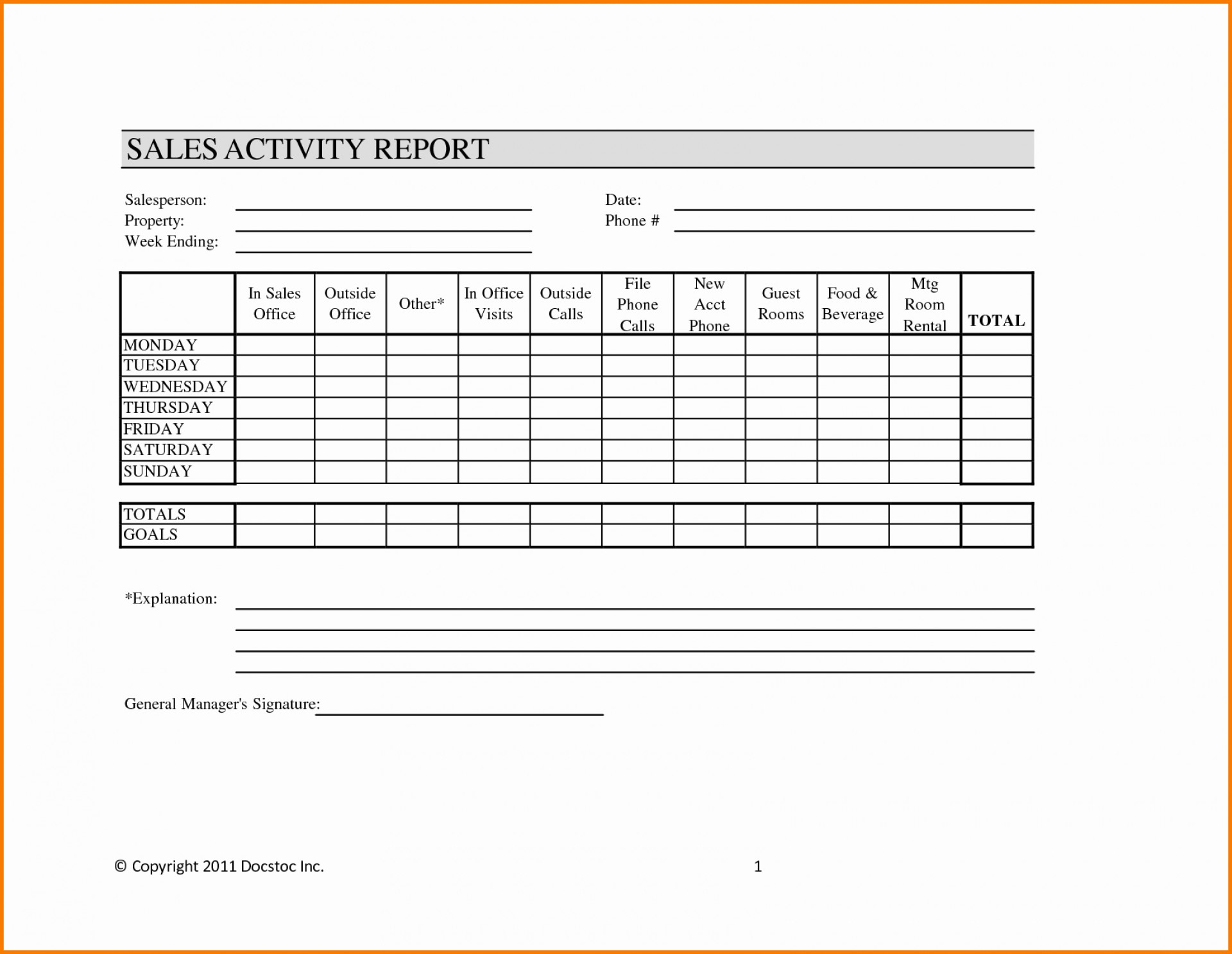 Sample Sales Call Reports Picture Of Report Template Excel Visit Inside Site Visit Report Template Free Download