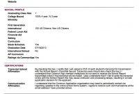Sample School Report And Transcript For Homeschoolers Article with Summer School Progress Report Template