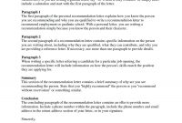 Sample Template For Letter Of Recommendation Collection with regard to Audit Findings Report Template