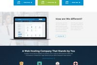 Satria  Professional Hosting Html Templateindonez  Themeforest within Professional Website Templates For Business