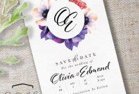 Save The Date Cards  Souldeelight Design Studio inside Save The Date Cards Templates