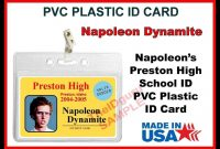 School Id Card Template Psd Awesome Sample Gallery for Pvc Id Card Template