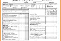 School Progress T Form High Elementary Academic Template with School Progress Report Template