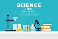 Science Fair Poster Banner  Download Free Vector Art Stock regarding Science Fair Banner Template