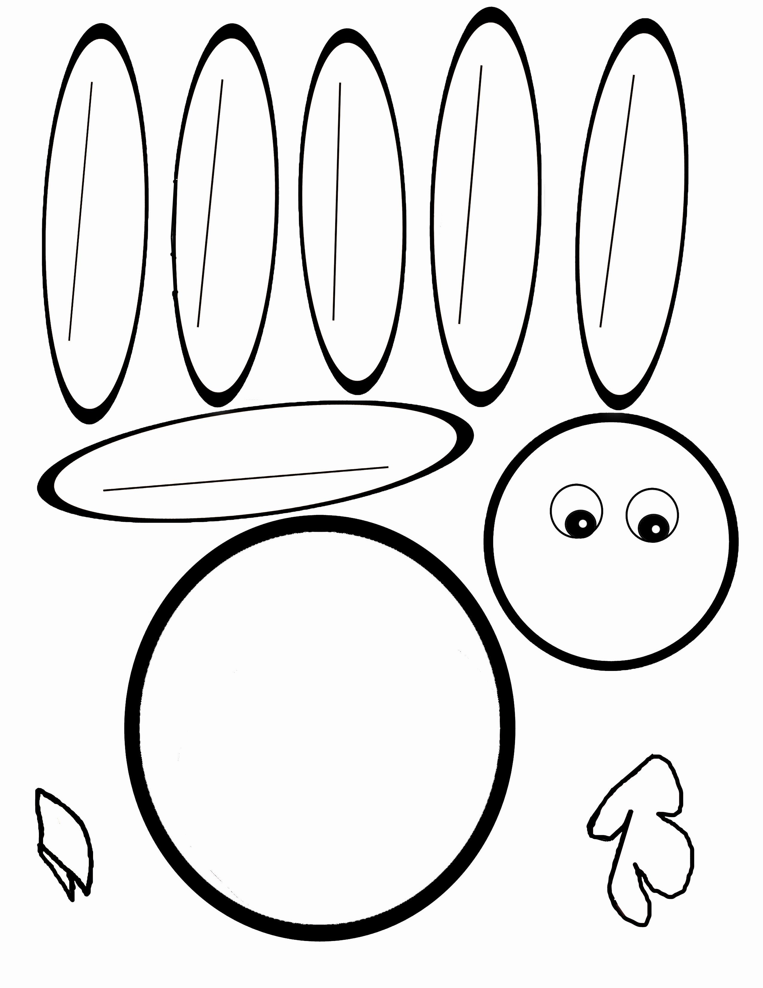 Scissor Cutting Turkey Template  Pediatric Ot  Turkey Template Within Blank Turkey Template