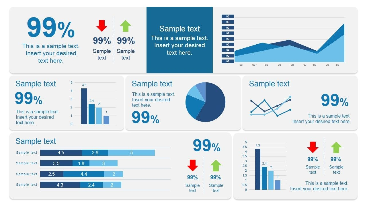 Scorecard Dashboard Powerpoint Template  Pm  Dashboard Design Intended For Project Dashboard Template Powerpoint Free
