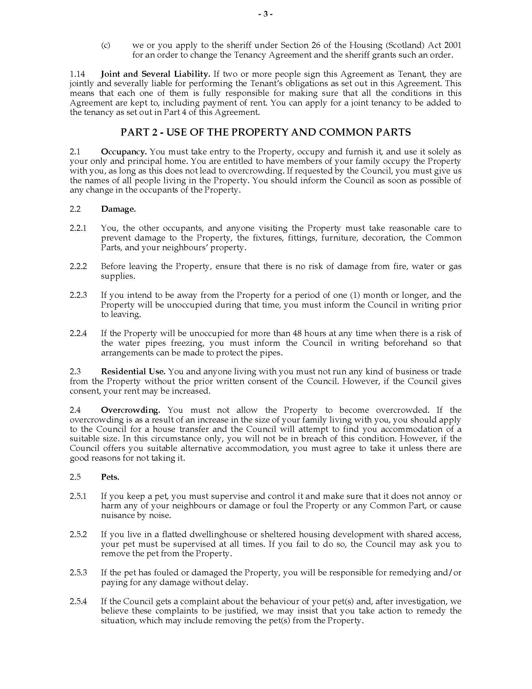 Scotland Short Scottish Secure Tenancy Agreement  Legal Forms And For Scottish Secure Tenancy Agreement Template