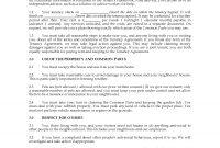 Scotland Summary Of Short Scottish Secure Tenancy Agreement  Legal with regard to Scottish Secure Tenancy Agreement Template