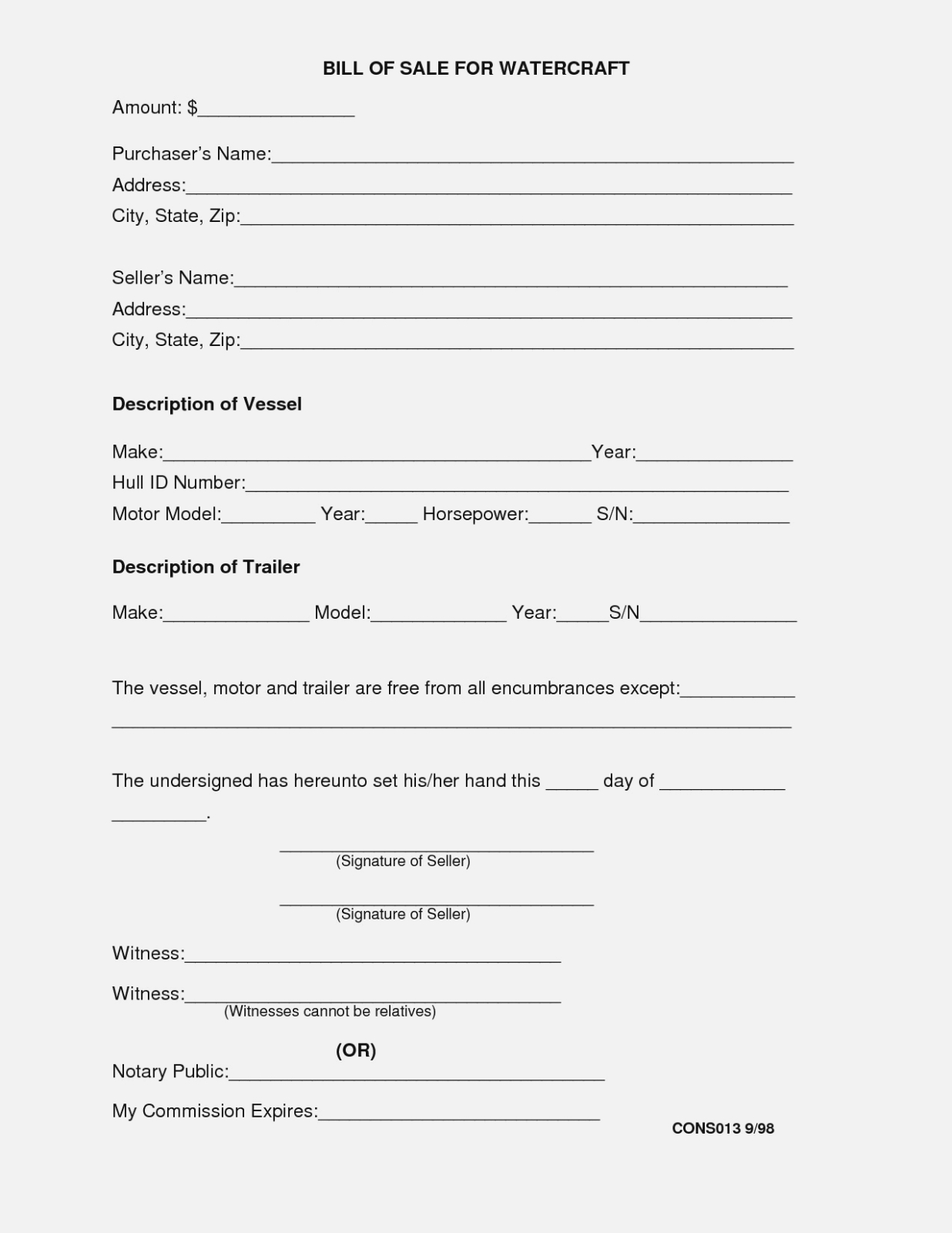 Selling A Business Contract Template Free Valid Blank Bill Sale Form Throughout Sale Of Business Contract Template Free
