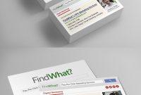 Seo Business Card Templates Psd  Business Card Templates  Business for Business Card Size Psd Template