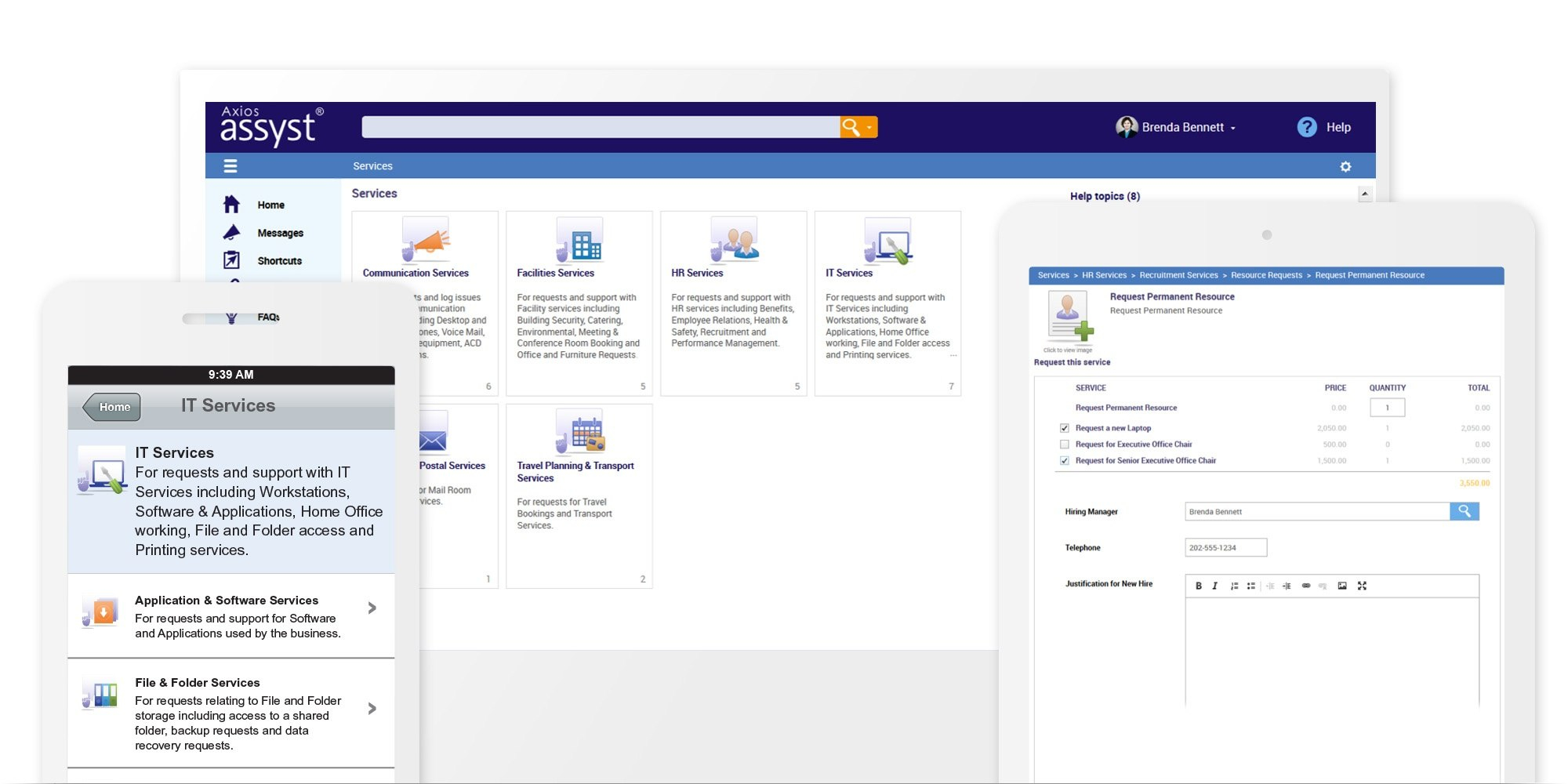 Service Catalog Software  Axios Systems For Business Process Catalogue Template