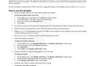 Service Level Agreement Examples  Pdf Word  Examples regarding Standard Sla Agreement Template