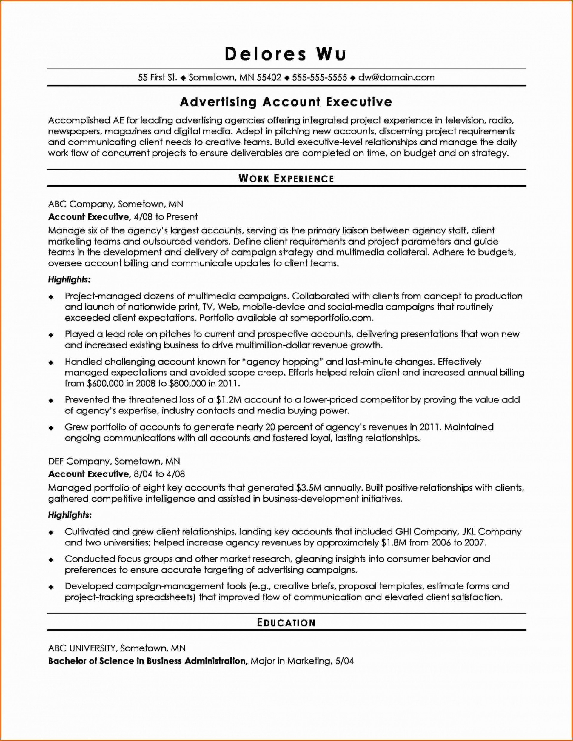 Service Level Agreement Template Ideas The Sample Of Advertising Intended For Free Advertising Agency Agreement Template