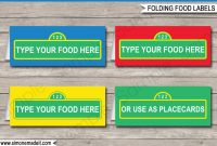 Sesame Street Party Food Labels  Place Cards  Sesame Street Theme throughout Sesame Street Banner Template