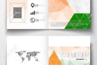 Set Of Business Templates For Brochure Magazine Flyer Booklet in Ind Annual Report Template