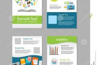 Set Of Flyer Brochure Design Templates Education Infographic with regard to E Brochure Design Templates