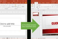 Set The Default Template When Powerpoint Starts  Youpresent with regard to Powerpoint Default Template