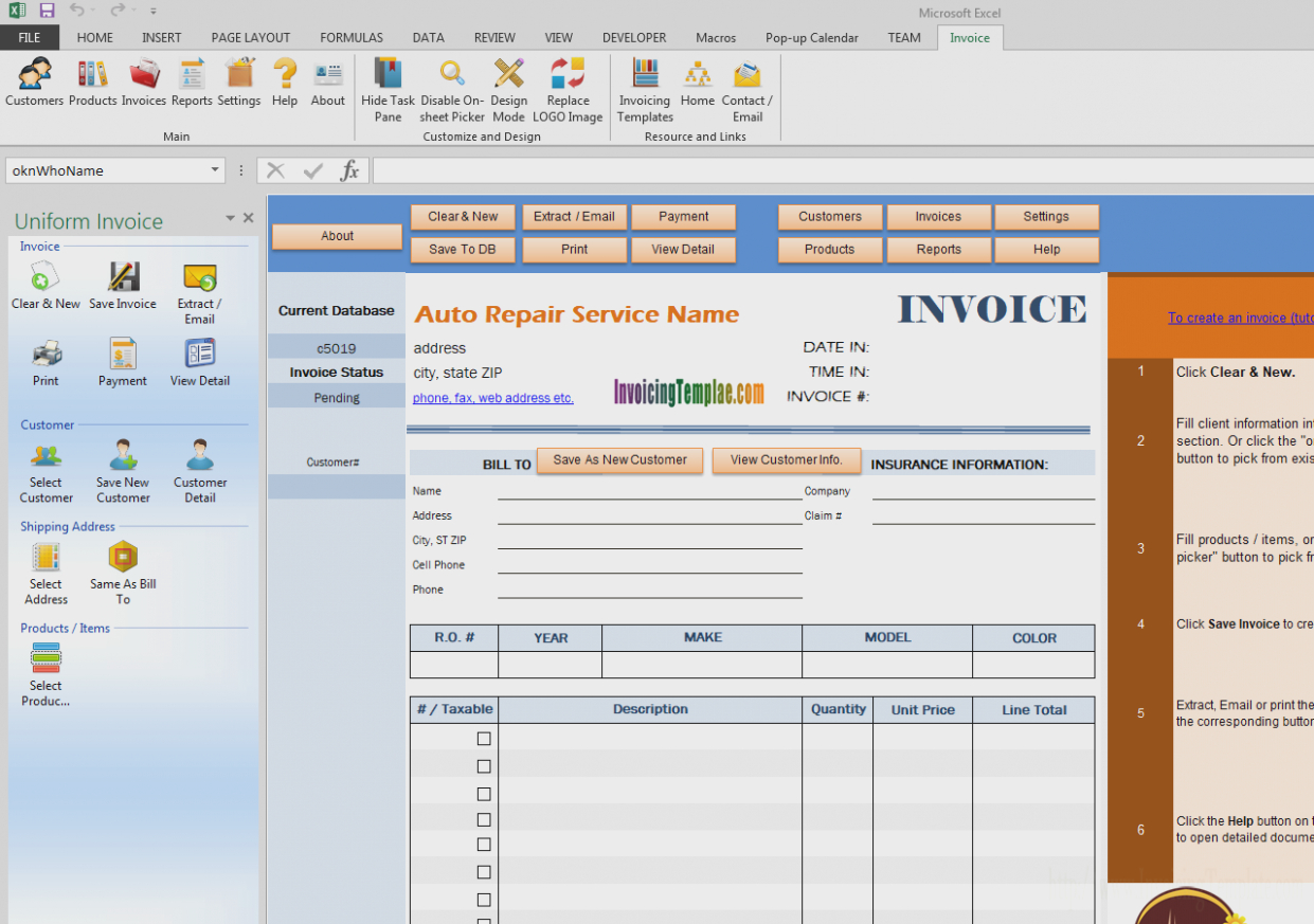 Seven Doubts You Should Clarify About Car  Invoice Form Inside Cell Phone Repair Invoice Template