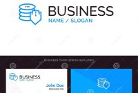 Shield Dollar Security Secure Blue Business Logo And Business for Shield Id Card Template