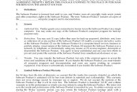 Shrinkwrap Software Eula Form  Legal Forms And Business Templates for Software Warranty Agreement Template