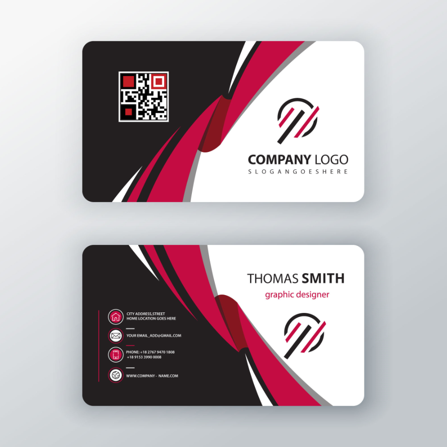 Sided Business Cards  Free Download  Graphicdownloader Intended For 2 Sided Business Card Template Word