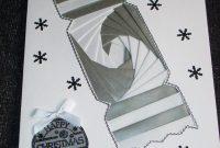Silver Christmas Cracker Iris Fold Card  Iris Folding Cards And intended for Iris Folding Christmas Cards Templates