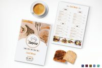 Simple Breakfast Menu Design Template In Psd Word Publisher inside Breakfast Menu Template Word