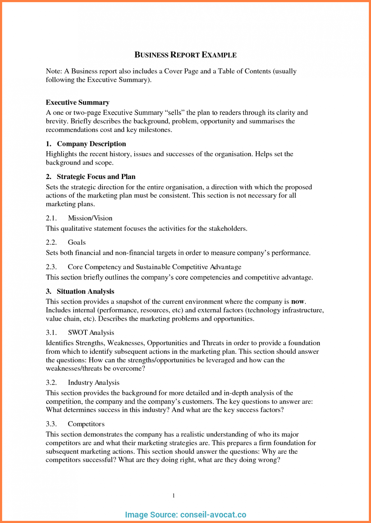 Simple Business Report  Sansurabionetassociats Pertaining To Simple Business Report Template