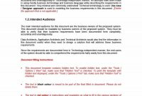 Simple Business Requirements Document Templates ᐅ Template Lab intended for Free Document Templates For Business