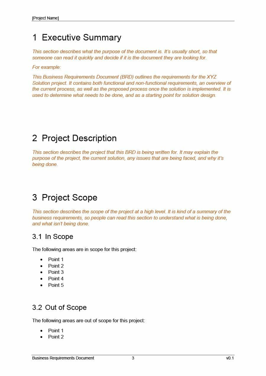 Simple Business Requirements Document Templates ᐅ Template Lab Regarding Example Business Requirements Document Template